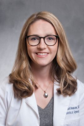 Elizabeth A. Newsom, M.D.